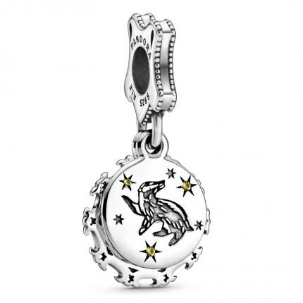 PANDORA Harry Potter Silber Charm-Anhänger Hufflepuff 798832C01
