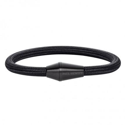 Paul Hewitt CONIC Armband Edelstahl Schwarz Nylon Schwarz PH002745