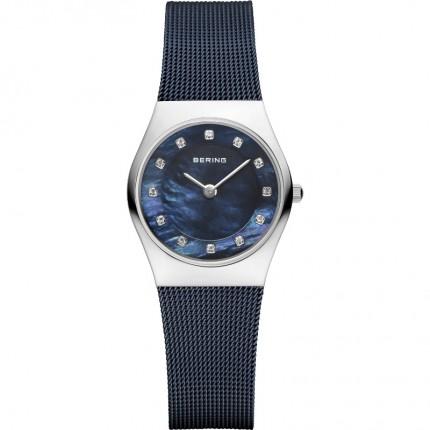 Bering Damenuhr Classic Blau 11927-307