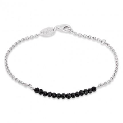 Engelsrufer Armband Silber Plata Black Spinal ERB-18-PLATA-BS