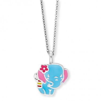 Herzengel Kette Silber Elefant HEN-ELEPHANT