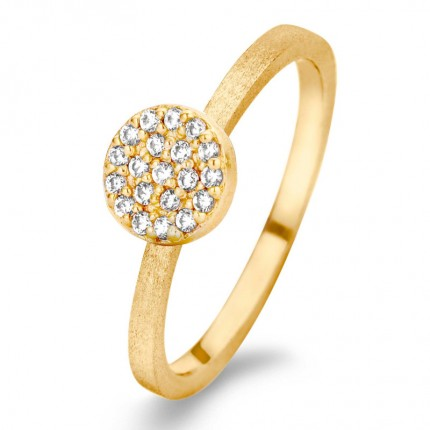 SPIRIT ICONS Ring Mini Silber Vergoldung 53212