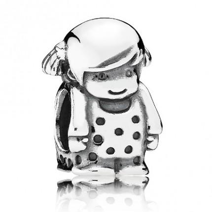 PANDORA Silberelement Kleines Mädchen 791531