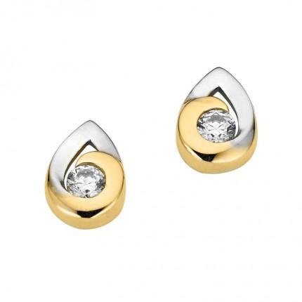 CEM Ohrschmuck 333/- Gold Zirkonia BOS305305