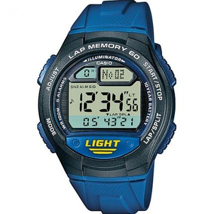 Casio Armbanduhr Collection Blau W-734-2AVEF