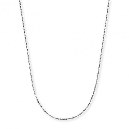 Engelsrufer Zopfkette Silber Rhodiniert ERNZ-12S