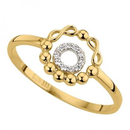 CEM Ring 333/- Gold Zirkonia G3-00301R
