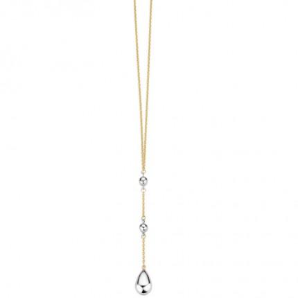 CEM Collier 333/- Gold Y-Kette Bicolor G3-00338C