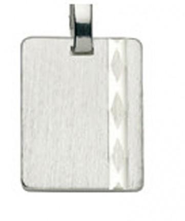 CEM Anhänger Gravurplatte Silber BAH 904723