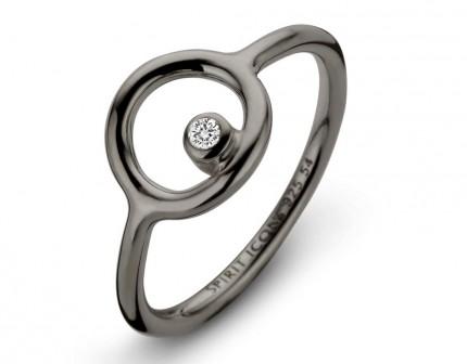 SPIRIT ICONS Ring Infinity Silber Rutheniert 51153