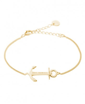 Paul Hewitt ANCHOR SPIRIT Armband Silber Gold PH-AB-G