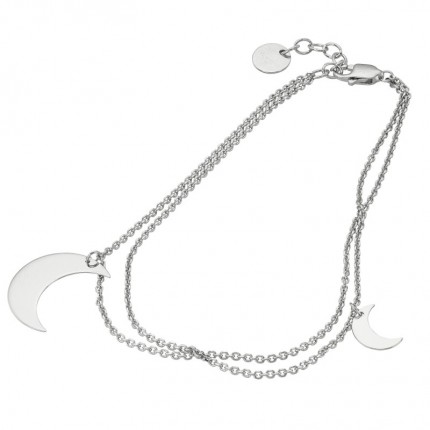CEM Armband Silber Mond S-00531B