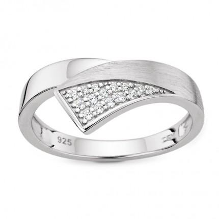 CEM Ring 925/- Silber Zirkonia S-00579R