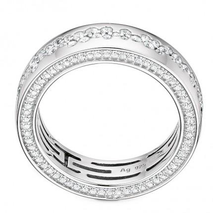 CEM Ring 925/- Silber Zirkonia S-00595R