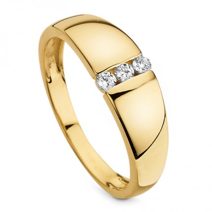 CEM Ring 333/- Gold Zirkonia G3-00378R