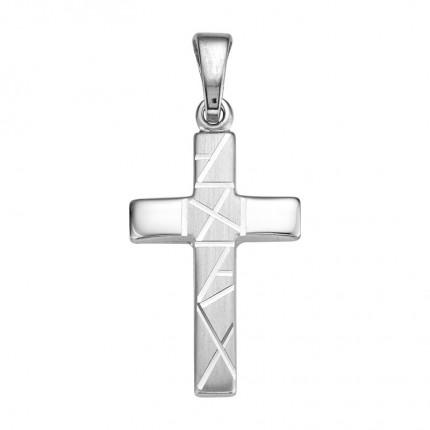 CEM Anhänger Kreuz Silber BAH905067