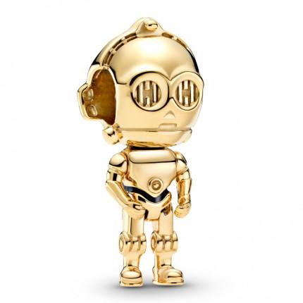 PANDORA SHINE Star Wars Charm C-3PO 769244C01