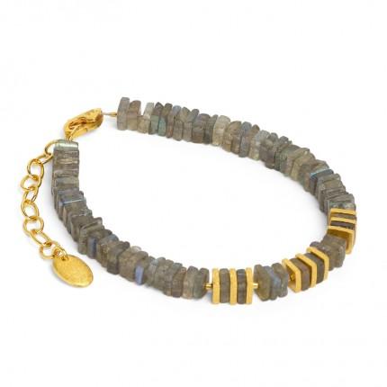 BERND WOLF Armband Piatola Labradorit 82041616