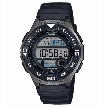 Casio Armbanduhr Collection Mondphase WS-1100H-1AVEF