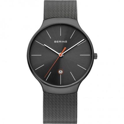 Bering Armbanduhr Unisex Classic Edelstahl Grau 13338-077