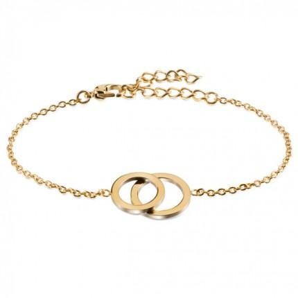 Boccia Armband Titan Gold 03019-02