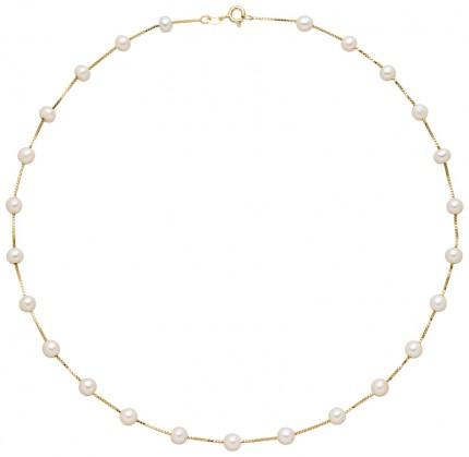 ADRIANA Halskette Silber Vergoldet Süßwasserperle R245V