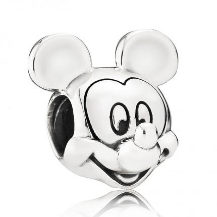 PANDORA Disney Silber Charm Mickey Portrait 791586