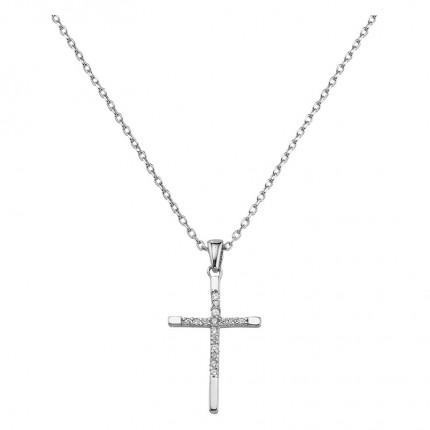 CEM Collier Silber Kreuz BCO906508