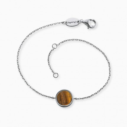 Engelsrufer Armband Silber Powerful Stone ERB-LILGEM-TE