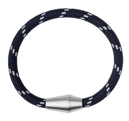 Paul Hewitt CONIC Armband Edelstahl Nylon Marineblau Weiß PH002771