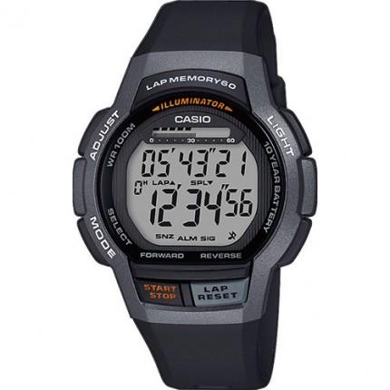 Casio Armbanduhr Collection Schwarz WS-1000H-1AVEF
