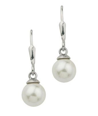 CEM Ohrschmuck Perle Silber BOH 900338
