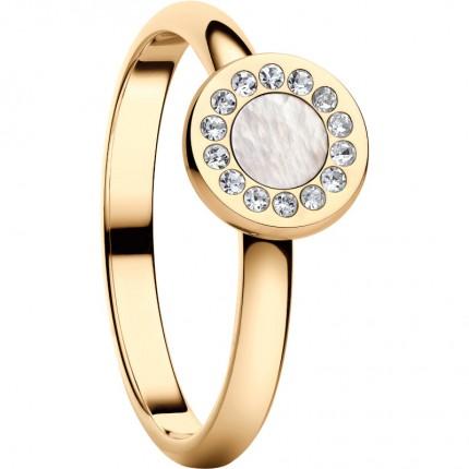 Bering Ring Artic Symphony Edelstahl Gold 577-25-X1