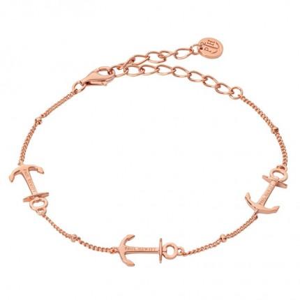 Paul Hewitt ANCHOR ROPE Armband Silber Rosévergoldet PH003110