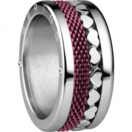 Bering Ringkombination Edelstahl Lila 520-VAL21S-X4