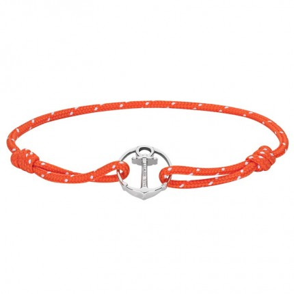 Paul Hewitt RE/BRACE Armband Silber Orange PH002179