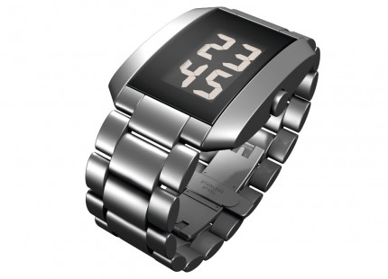 ROSENDAHL Armbanduhr Digital Watch III Small Edelstahl Metallband 43242