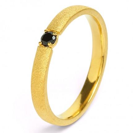 BERND WOLF Ring Silber Goldplattiert ESTRELLA Spinell 52401496
