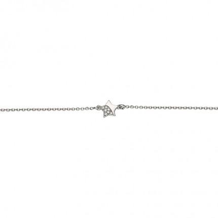 CEM Armband Silber Stern BAS96306/18