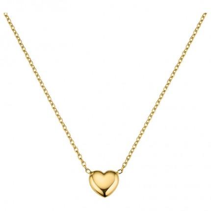 CEM Collier 333/- Gold Herz BCO305504