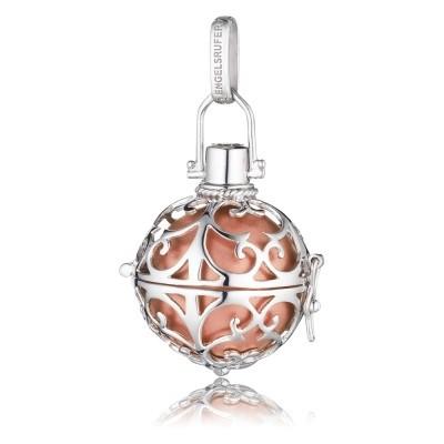 Engelsrufer Silber Rhodiniert mit Klangkugel Rosé ER-16-L