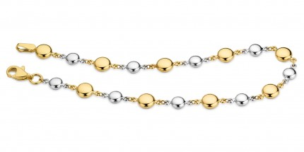 CEM Armband 333/- Gold Bicolor G3-00338B
