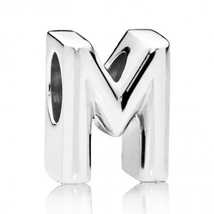 PANDORA Silberelement Letter M 797467