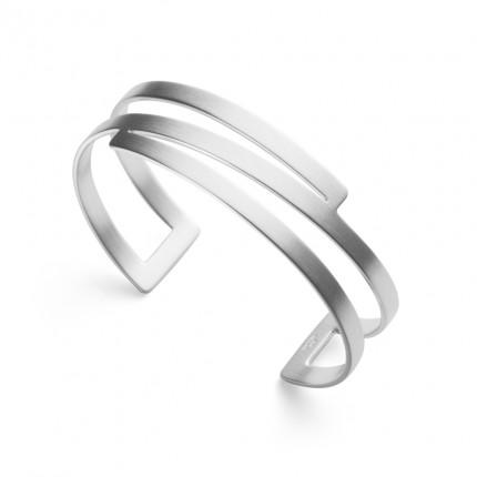 Bastian Inverun Armreif 925/- Silber Rhodiniert 38101