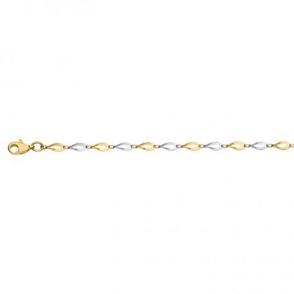 CEM Armband 333/-Gold Bicolor BAB306600
