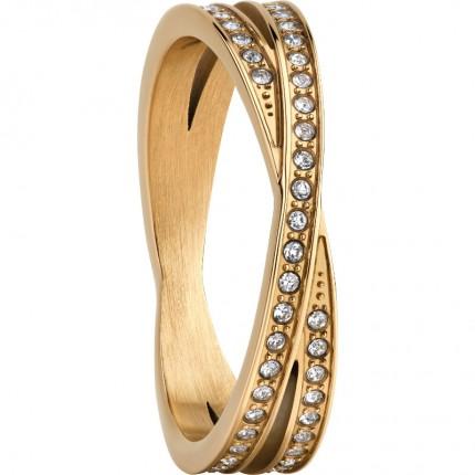 Bering Ring Artic Symphony Edelstahl Gold 586-27-X2