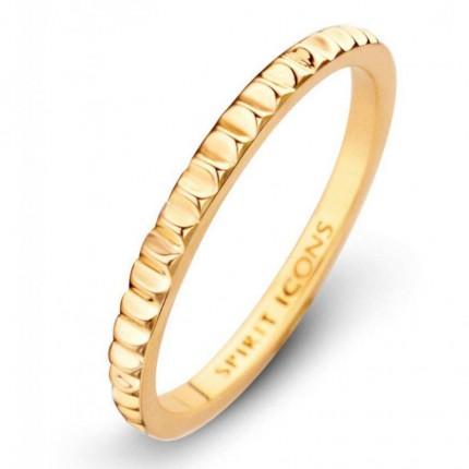 SPIRIT ICONS Ring Peak Silber Vergoldet 53472