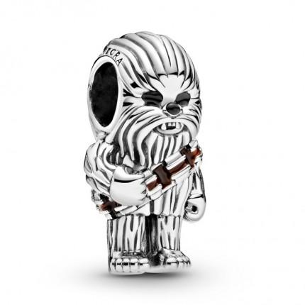 PANDORA Star Wars Silber Charm Chewbacca 799250C01