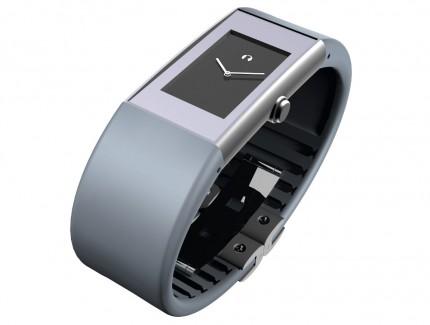 ROSENDAHL Armbanduhr Watch II Small Edelstahl Polyurethan Blaugrau 43179