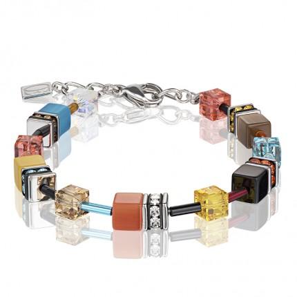 COEUR DE LION Armband Geo Cube Multicolor Daylight 2 2838/30-1563